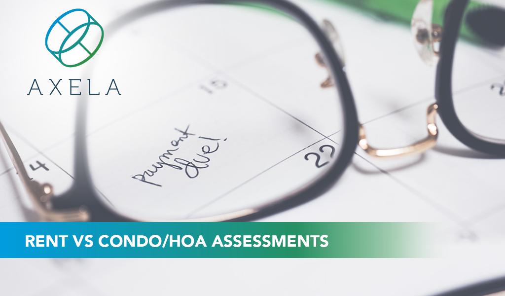Rent vs Assessments