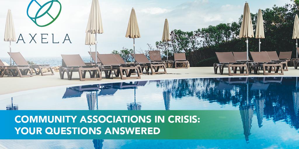Community associations in coronavirus crisis Q and A
